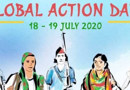 Aktionsplan zum Jahrestag der Rojava