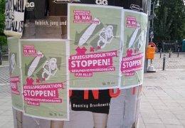 19. Mai 2020: Rheinmetall entrüsten! Waffenexporte stoppen!