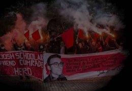 Gedenken an Internationalisten Josh Schoolar