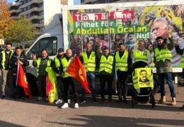 Aktionen für die Freiheit Öcalans