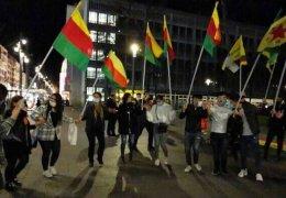 Welt-Kobanê-Tag in Mannheim und München