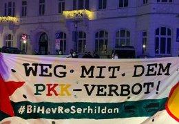 PKK-Aktionen in Bielefeld, Hannover und Berlin
