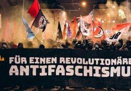Große antifaschistische Demonstration in Basel
