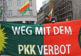 Öcalan-Kundgebung in Leipzig von Polizei eingekesselt