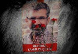 Gedenken an Tahir Elçi in Istanbul