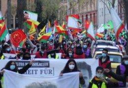 Demonstration für Öcalan in Kassel