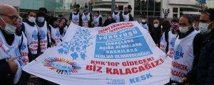 KESK'liler Ankara'ya yürüyor