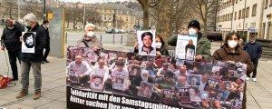 Stuttgart'ta Cumartesi Anneleri'yle dayanışma eylemi