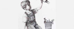 Banksy'nin eseri 19 Milyon euroya satıldı