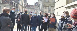 Bern'de küçük adım, büyük etki