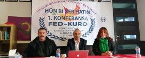 FED-KURD 1. Konferansı'nı yaptı