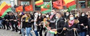 Hamburg'da Newroz kutlandı
