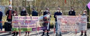 Berlin'de Şengal için eylem