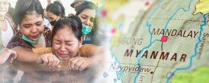 Myanmar'da iki ayda 500 kişi katledildi