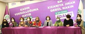 HDP Kadın Meclisi'nin kampanyası start aldı