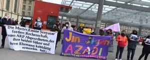 Bern'de Şenyaşar ailesine destek