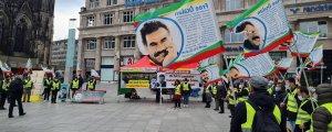Köln'de 'Öcalan'a özgürlük' eylemi