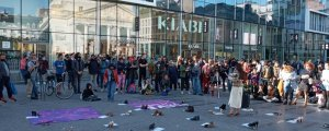 Brüksel'de İstanbul Sözleşmesi protestosu