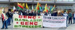 Türk devlet terörü lanetlendi