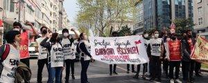 Barikatları aşıp Taksim'e ulaştılar
