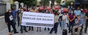 Hak ihlalleri protesto edildi