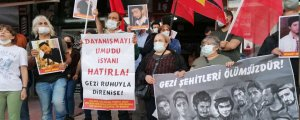 Yasağa rağmen Gezi hatırlatıldı
