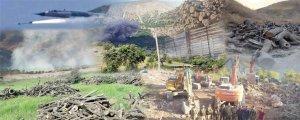 Talana xwezayê beşekî qirkirinê ye