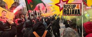 RiseUp4Rojava: Widerstand gegen die Angriffe der Türkei zeigen