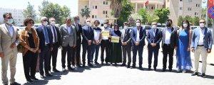 Baro başkanlarındanŞenyaşar'a destek