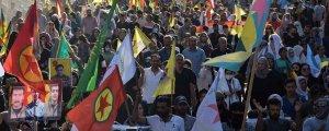 Rojava'da işgal protestosu