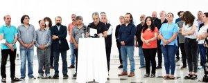 Sanatçılar: Savaş değil, ulusal birlik