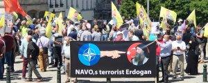 'NATO ve ABD elinizi Kürdistan çekin!'