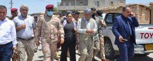 Irak hükümetinden Mexmûr'a heyet