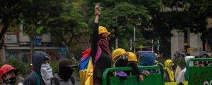 Kolombiya'daki protestolar ve cinsel şiddet