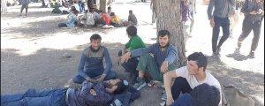 Otogarda göçmen dramı