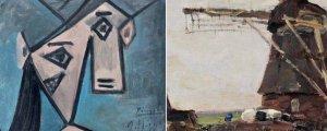 Tabloyê Picasso ji dizan stendin