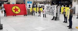 Paris'te gençlerden sivil itaatsizlik eylemi