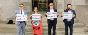 Alman vekiller: HDP'nin yanındayız