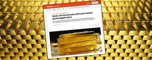 Almanya'dan İstanbul'a 7.5 ton altın kaçırdılar