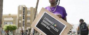 Senegal'de tecavüz kültürüne karşı yürüyüş