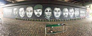 Hanau'da katledilenlerin anısına