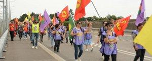 Kürdistan'ı Savun yürüyüşünde son durak Cenevre