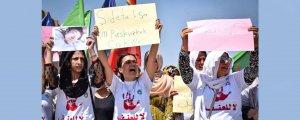 Kadınlar katliamlara karşı harekete geçti