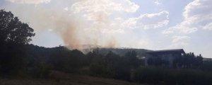 Lice'de yangın ilerliyor