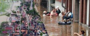 Son 200 yılın en şiddetli yağışları