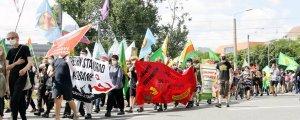 Dresden'de Rojava devrimi kutlandı