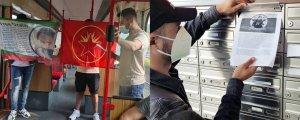 Avrupa'da gençlerden bir dizi eylem