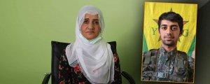 Efrîn'deki oğlunun cenazesini istiyor