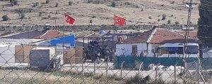 Irkçı saldırıyı Türk bayrağı ile örttüler