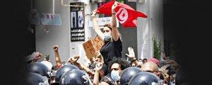 Tunus'ta İhvancılar tepetaklak